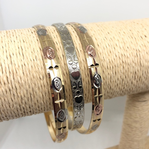 Vintage Jewelry - Vintage Bangle Bundle